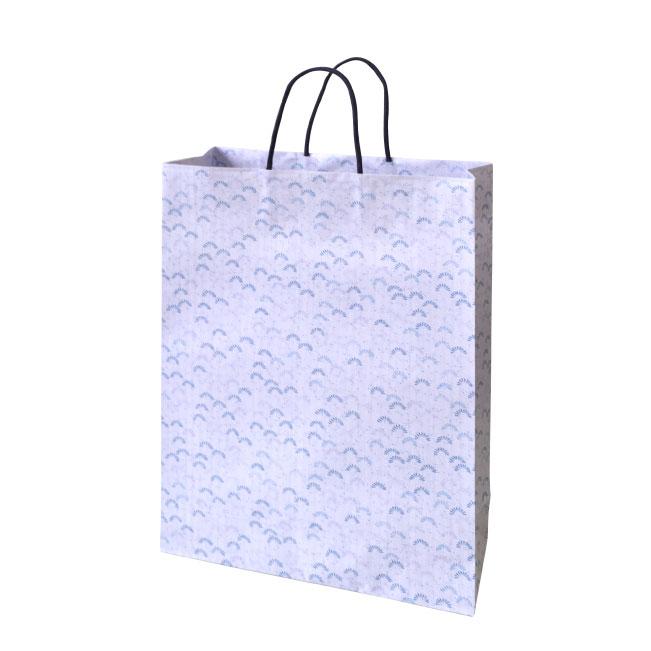 高級手提げ紙袋 小粋 紫2才