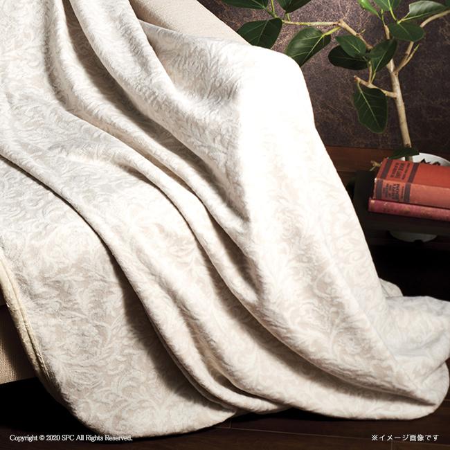 ロイヤルリッチ 国産ジャカード綿毛布 No.100