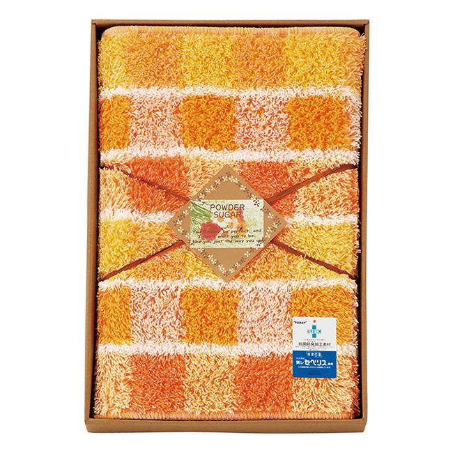 パウダーシュガー ロングキッチンマット No.50 (オレンジ)