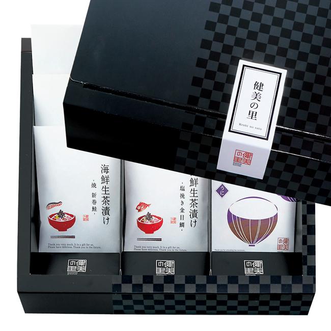 匠菴謹製 極だし Premium 海鮮 生茶漬け・だし味噌汁のギフトセット No.100