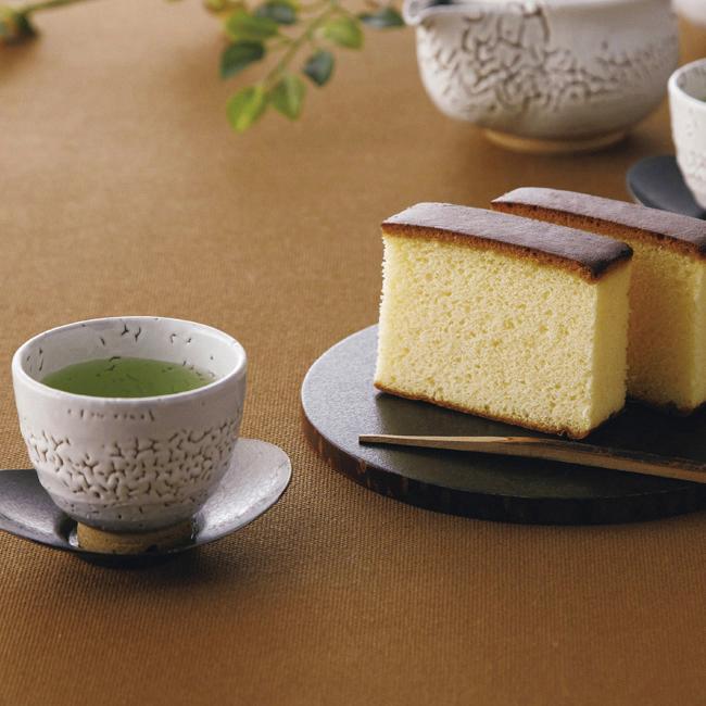 長崎製法カステーラ・緑茶詰合せ No.25