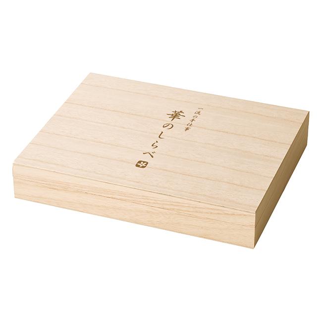 一流の手仕事 華のしらべ 今治 木箱入りフェイス2P・ハンドタオルセット No.50