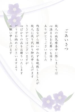 お見舞いお礼(お香典返し兼用)